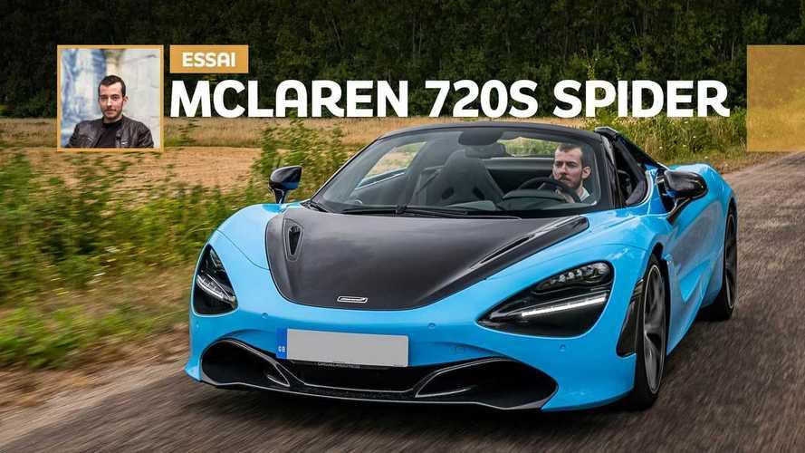 Essai McLaren 720S Spider - Scalpel à ciel ouvert