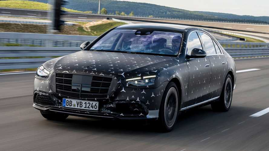 2021 Mercedes S-Class teased with new E-Active Body Control