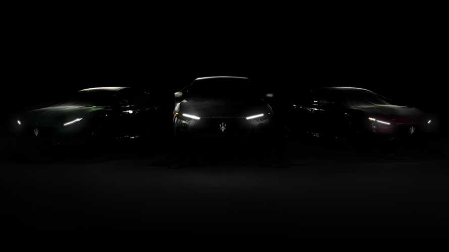 Maserati Ghibli And Quattroporte Trofeo Teased Ahead Of August Debut