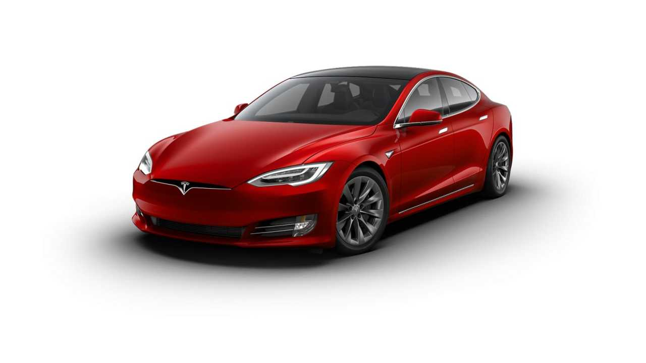 Tesla Model S with 19