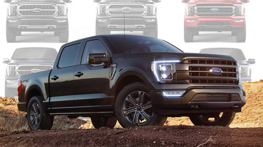 Check Out All 11 Grilles For The 2021 Ford F-150