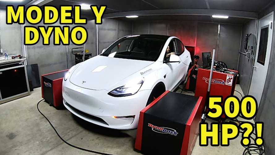 Amazing Tesla Model Y Performance Dyno Test Results: Over 500HP!