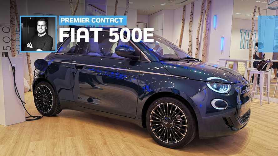 Fiat 500 électrique - Nous sommes allés découvrir la nouvelle 500e !