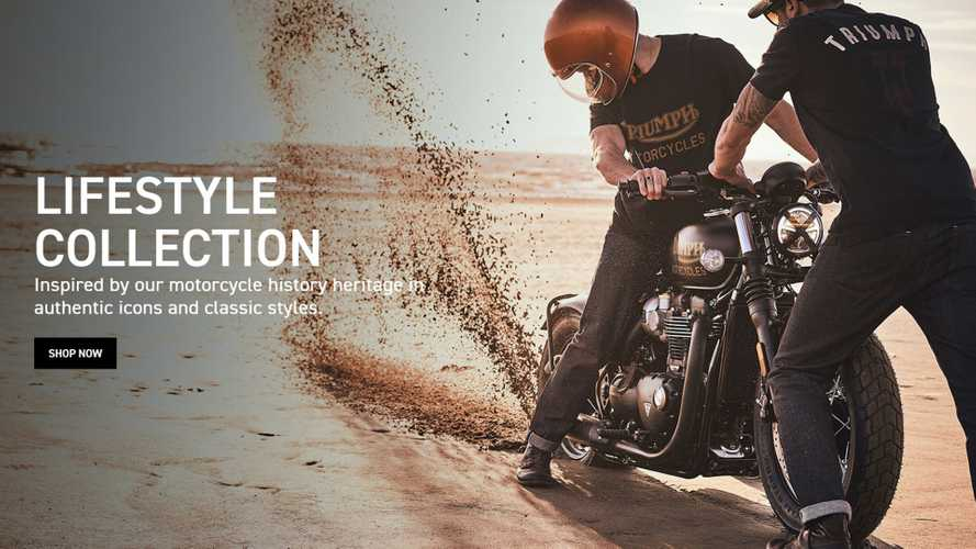Triumph Launches Online Ordering For Gear, Clothing In U.K.
