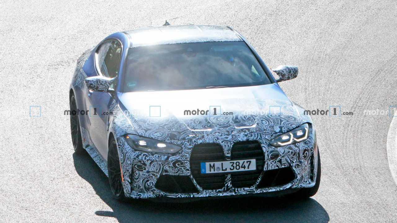 2020 BMW M4 Yeni Casus Fotoğraflar