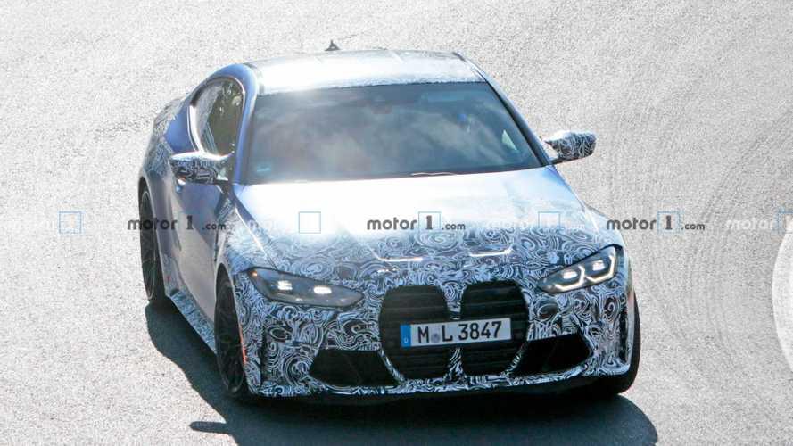 2020 BMW M4, Nürburgring'de test edilirken yakalandı