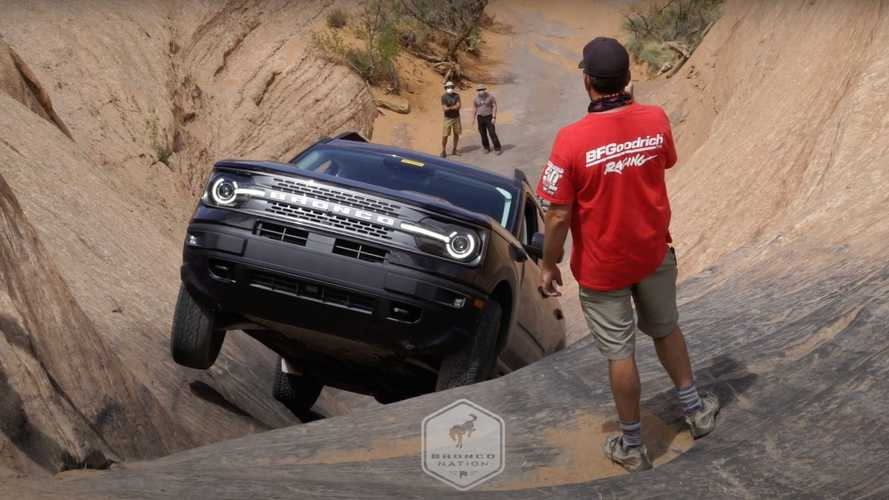Watch 2021 Ford Bronco Sport Prove It's A Real Bronco In Moab