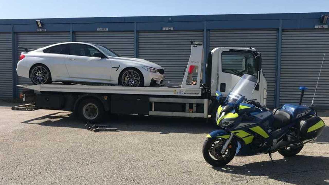Saisie BMW M4 GTS
