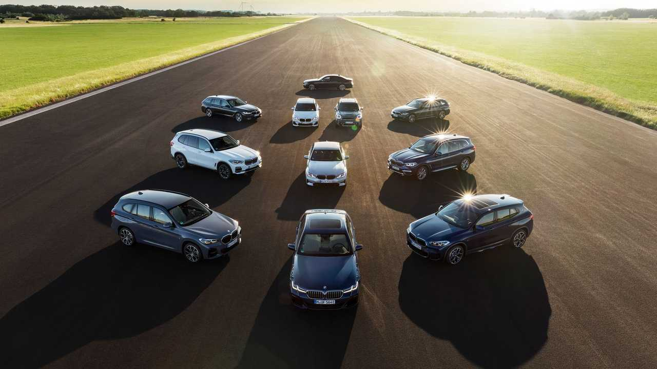 BMW Group electrified model range - Family Shots
