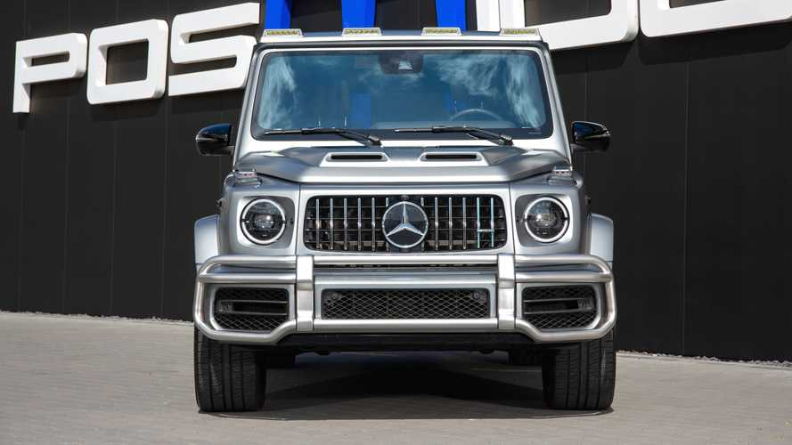 Mercedes-AMG G63 tuned by Posaidon