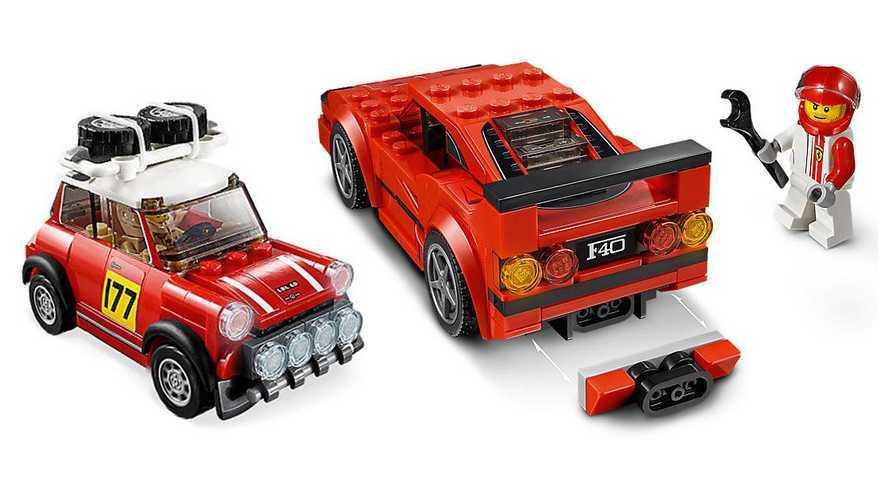 New 2019 Lego kits include 1967 Mini Cooper and Ferrari F40