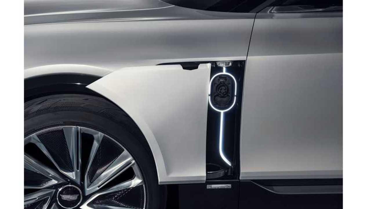 Cadillac Lyriq - charging port