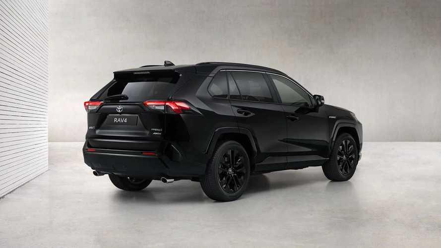 Toyota RAV4 Hybrid Black Edition: todo al negro