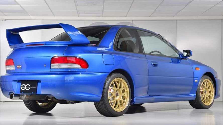 Cette superbe Subaru Impreza 22B STi est à vendre !
