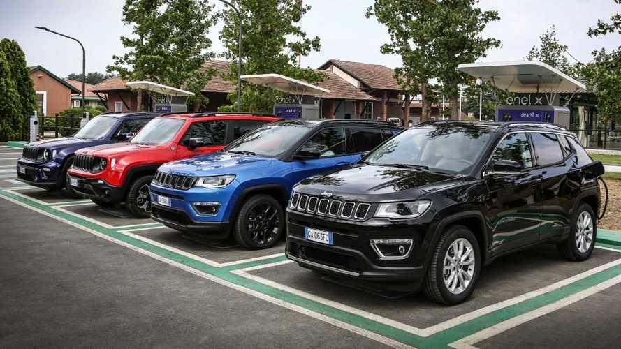 Jeep Compass e Renegade ibride plug-in, ecco come funzionano