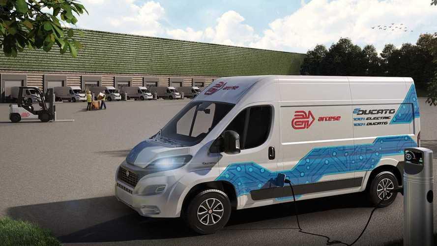 Arcese e Fiat Professional insieme per testare il Ducato elettrico