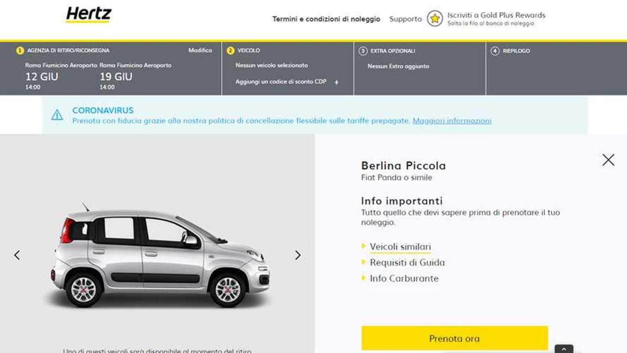 Fiat Panda Hertz