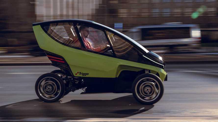 Triggo: Elektrofahrzeug mit variabler Spurbreite soll dem Stau davon fahren