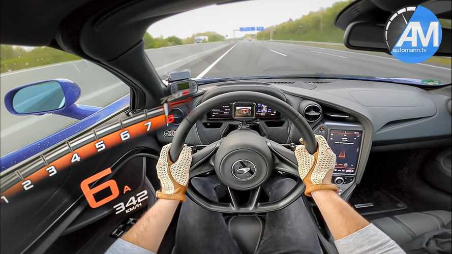 McLaren 720S Leaves YouTuber Speechless In Autobahn Top Speed Run
