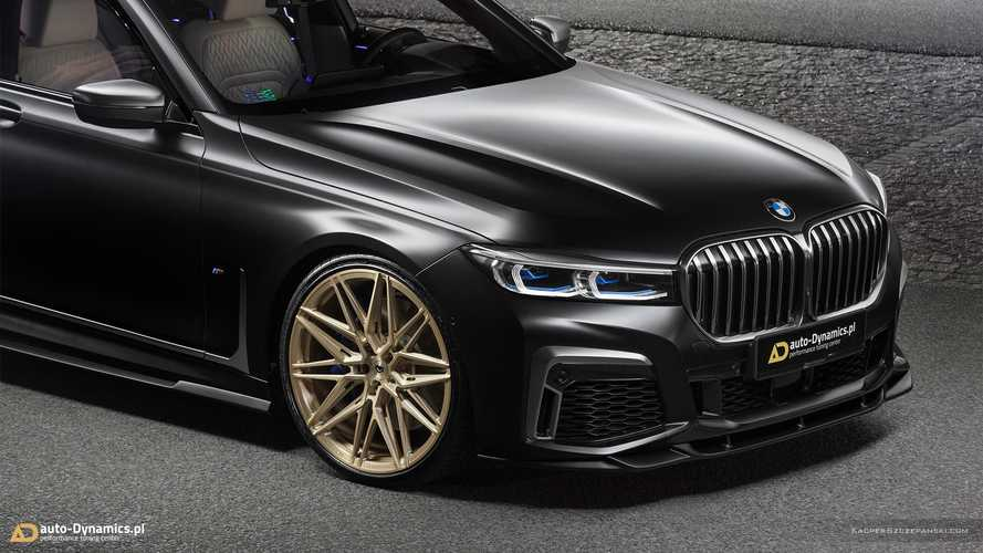 BMW M760Li xDrive Gets Several Swanky Upgrades From Polish Tuner