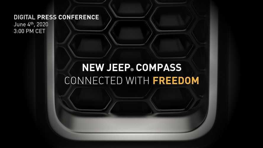 Novo Jeep Compass 2021 com motor 1.3 turbo será revelado no dia 4 de junho