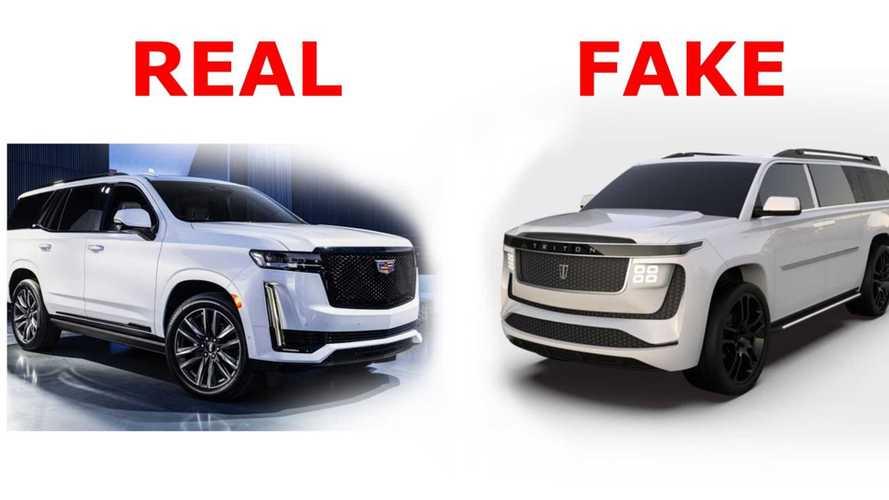 700-Mile, 8-Seat Triton Model H Electric SUV Is A Cadillac Escalade ESV Clone