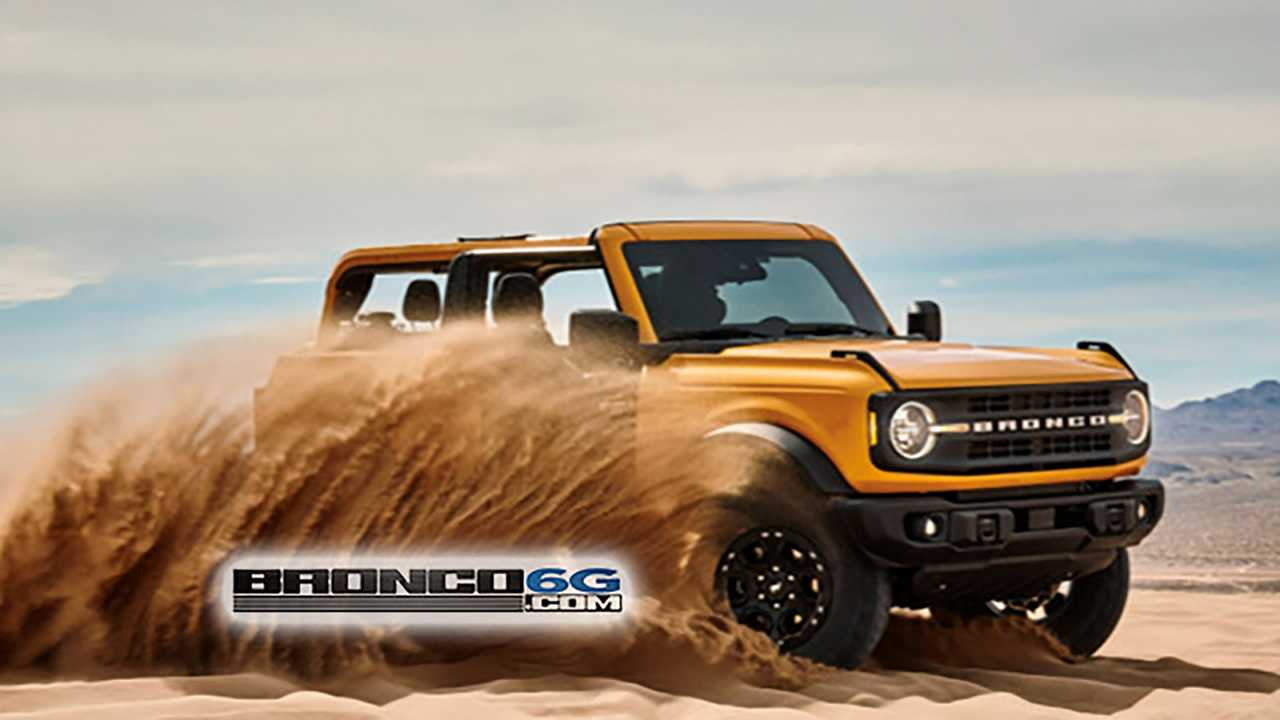 2021 Ford Bronco Leak
