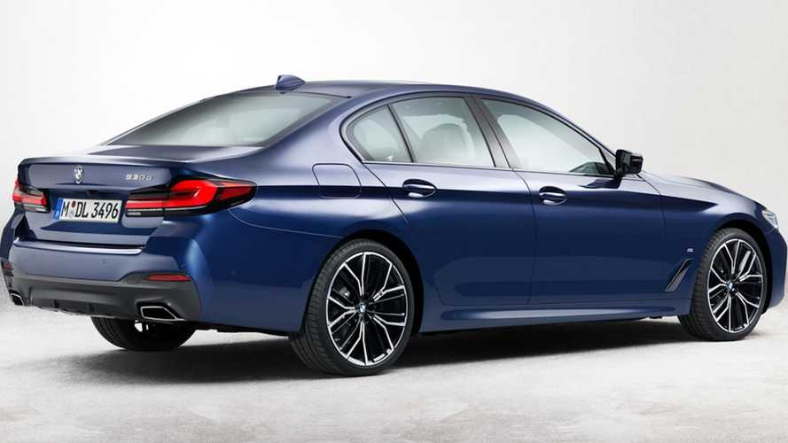 Makyajlı BMW 5 Serisi'nin fotoğrafları sızdı