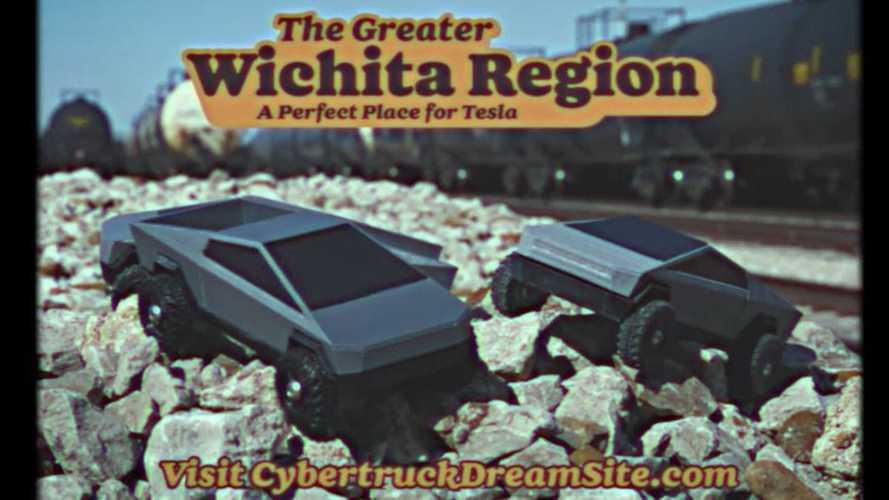 Wichita, Kansas Joins The Race For Tesla Cybertruck Gigafactory
