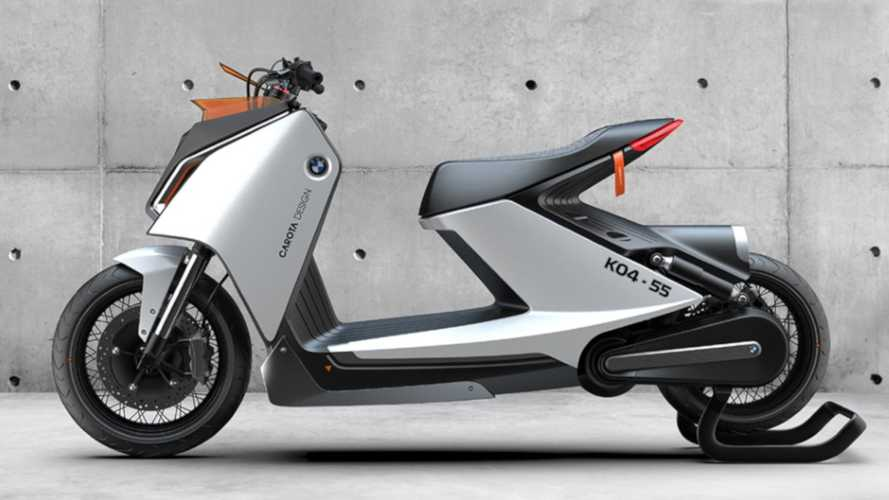 BMW Motorrad E-Scooter Concept By Carota Design