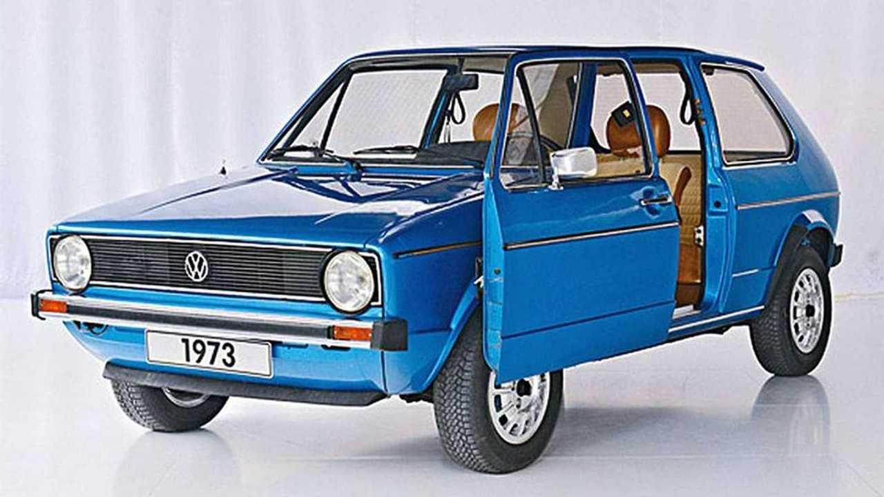 Volkswagen Golf I con puerta corredera