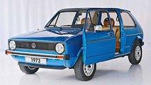 VW Golf 1 à porte coulissante