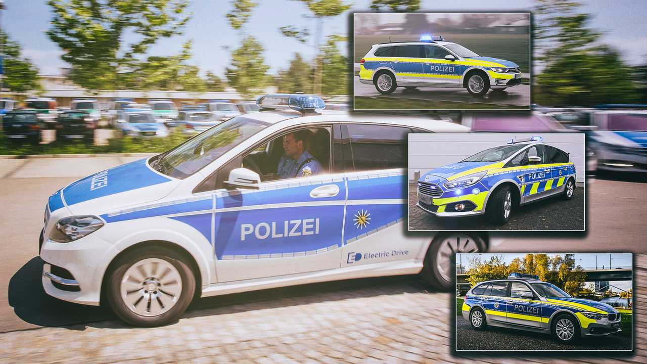 Polizeiautos in Deutschland 2020