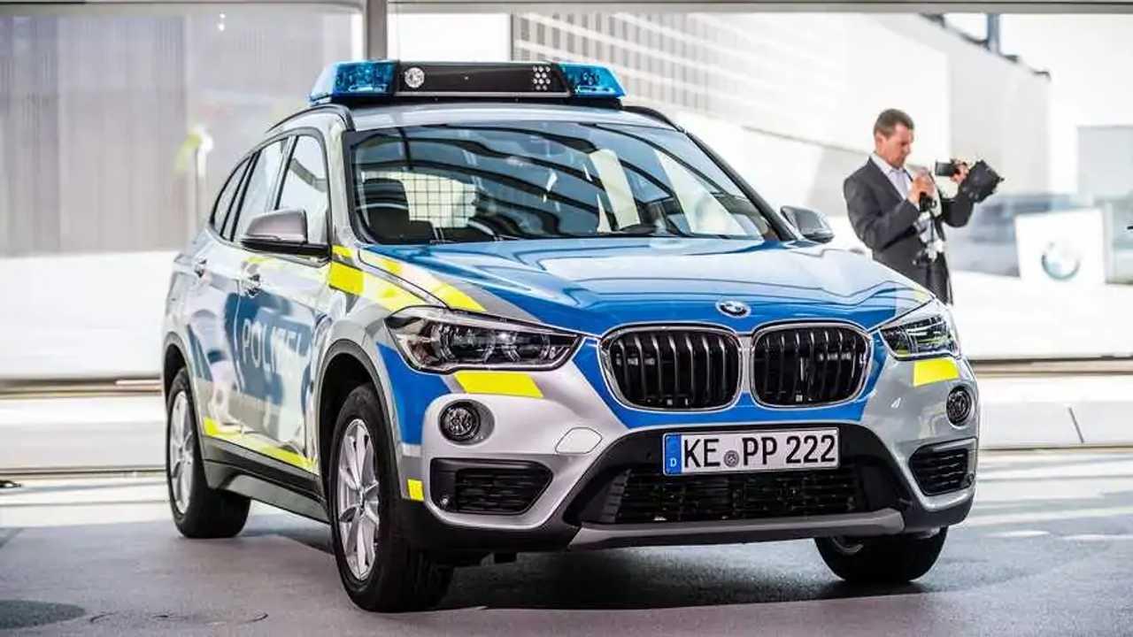 Polizeiautos in Deutschland: BMW X1