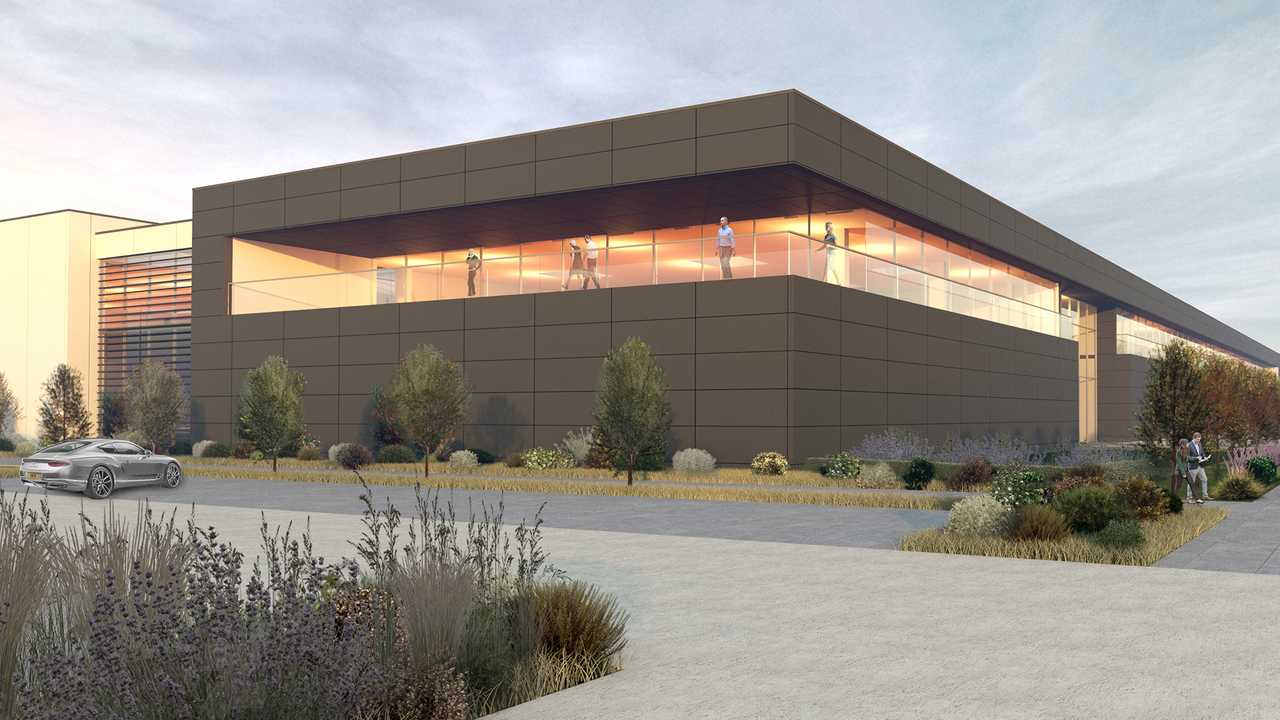Racing Point factory design rendering