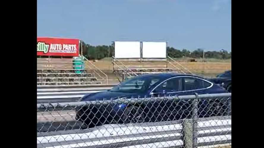 Watch Tesla Model 3 Take Down Ford Mustang In Closer Than Expected Drag Race
