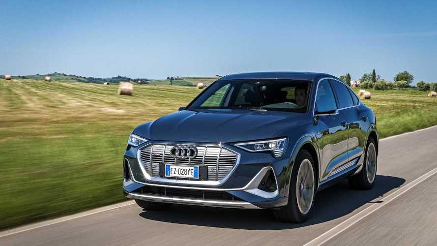Já andamos: Audi e-tron Sportback vai bem e agrada pelo estilo cupê