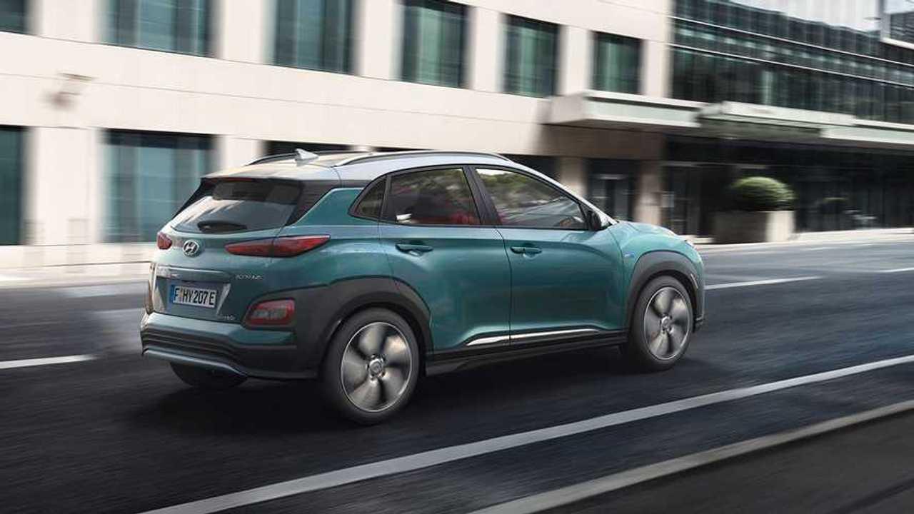 Hyundai начала поставки Kona Electric в США