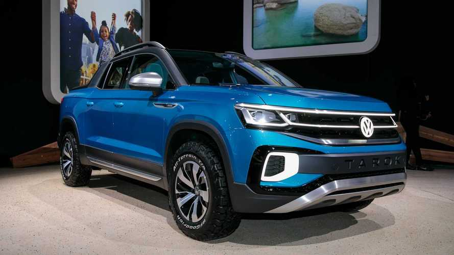 Volkswagen pode anunciar picape Tarok (rival da Fiat Toro) em 2021