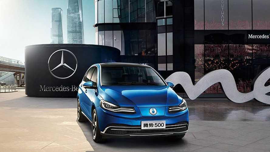 Daimler выпустил новый электромобиль с запасом хода в 500 км