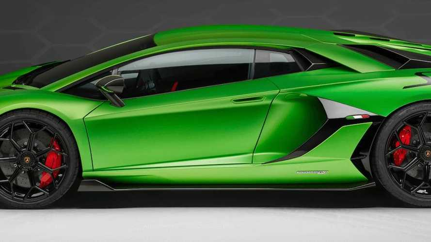 Lamborghini Aventador SVJ debuts at Pebble Beach
