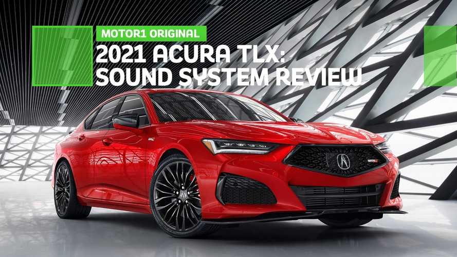 The 2021 Acura TLX Is A Rolling Concert Venue