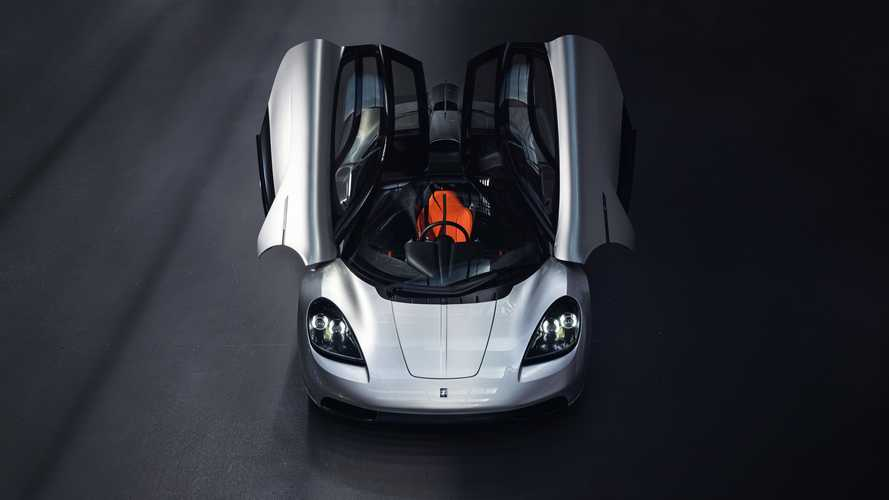 Gordon Murray Automotive T.50. Двери