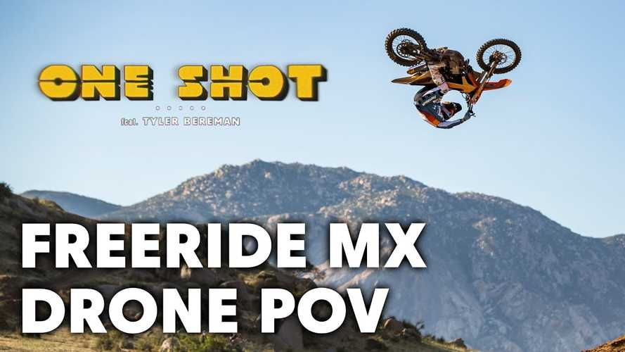 This Epic Motocross Freeride Airfest Brought To You By Drone