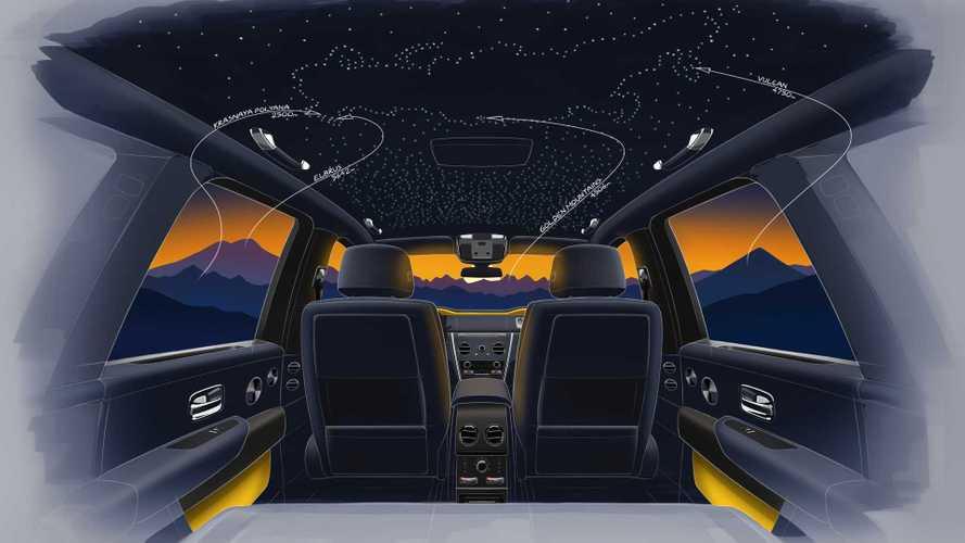 Rolls-Royce посвятит 4 уникальных Cullinan российским горам