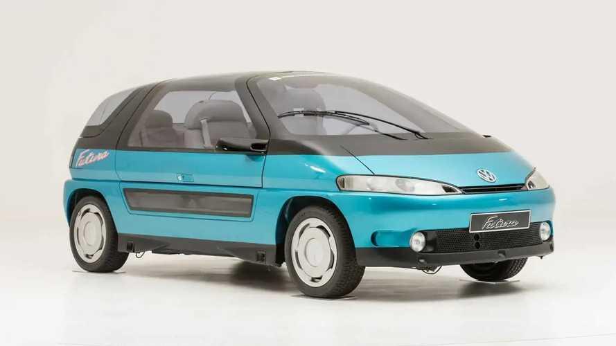 VW ID.3 parece uma evolução do VW Futura 1989