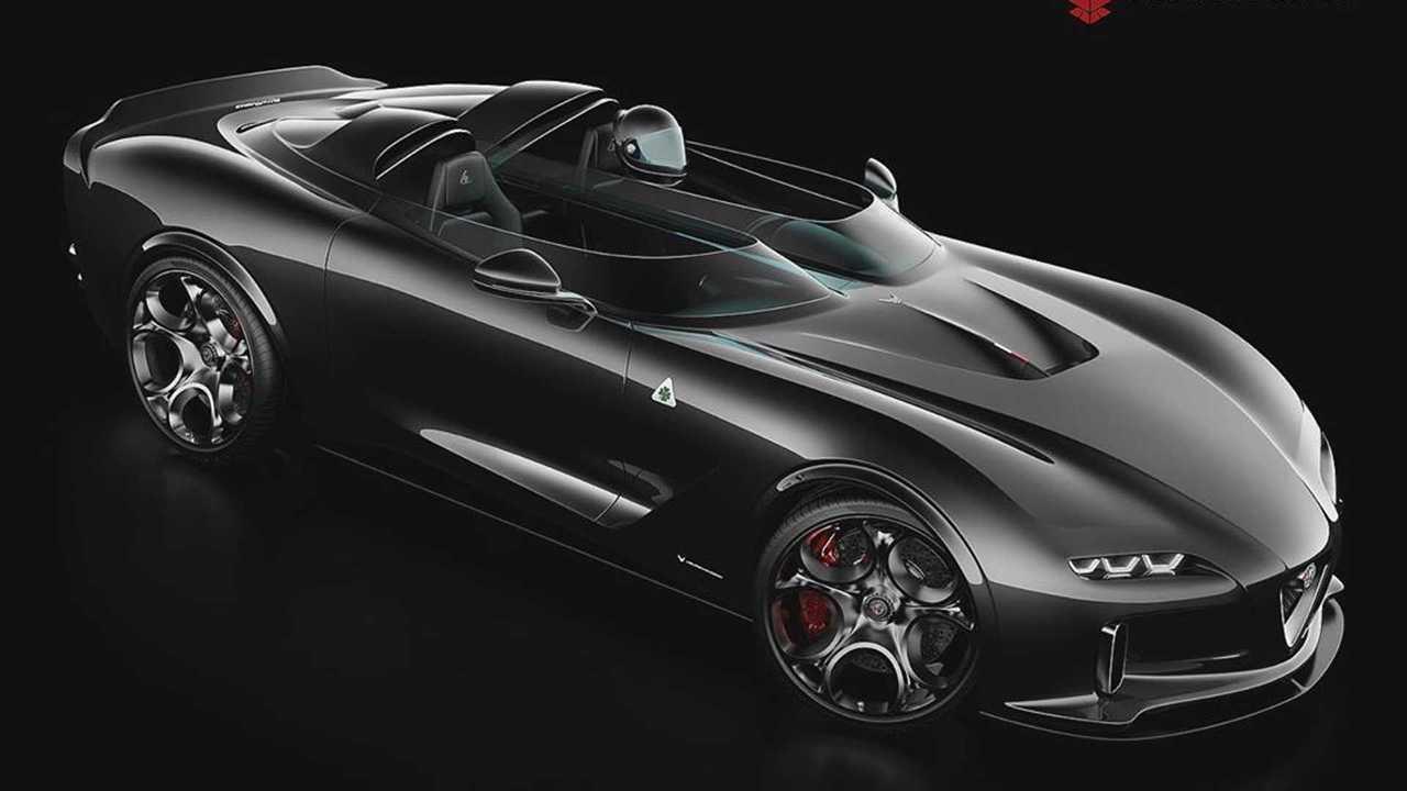 Alfa Romeo Barchetta renderkép