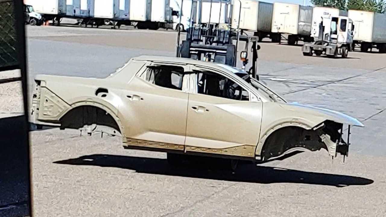Кузов пикапа Hyundai Santa Cruz