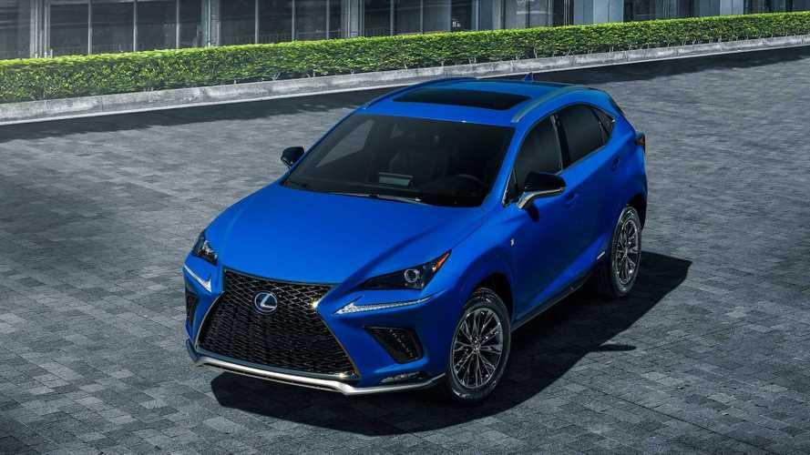 2021 lexus nx hybrid f sport black line special edition