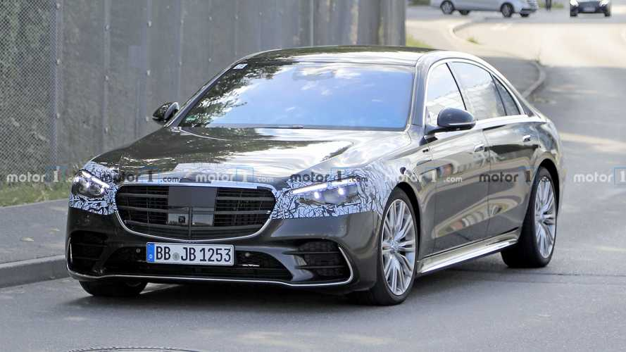2021 Mercedes S-Class Has Hardly Any Camo Left To Lose In Spy Shots